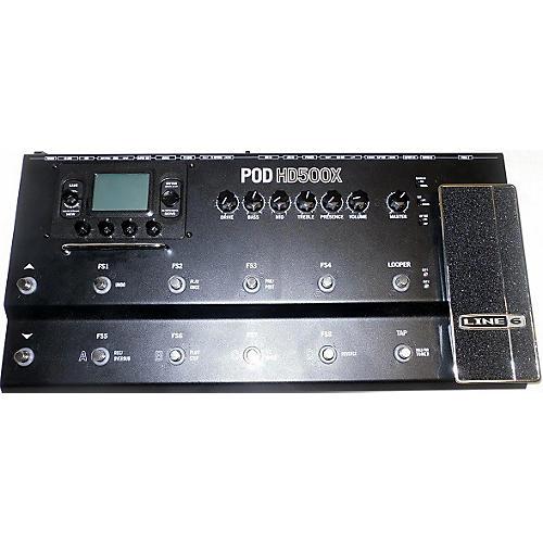 Line 6 Pod HD500X Amp Modeler\ Pedal Board
