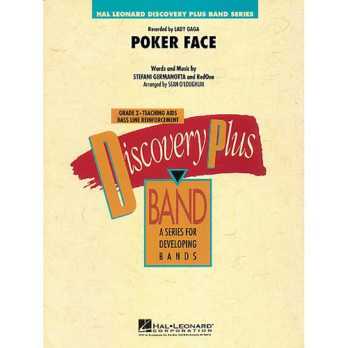 Hal Leonard Poker Face - Discovery Plus Band Level 2 arranged by Sean O'Loughlin