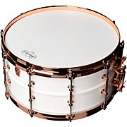 Polar-Phonic Brass Snare Drum With Copper Hardware 14 x 6.5 in.