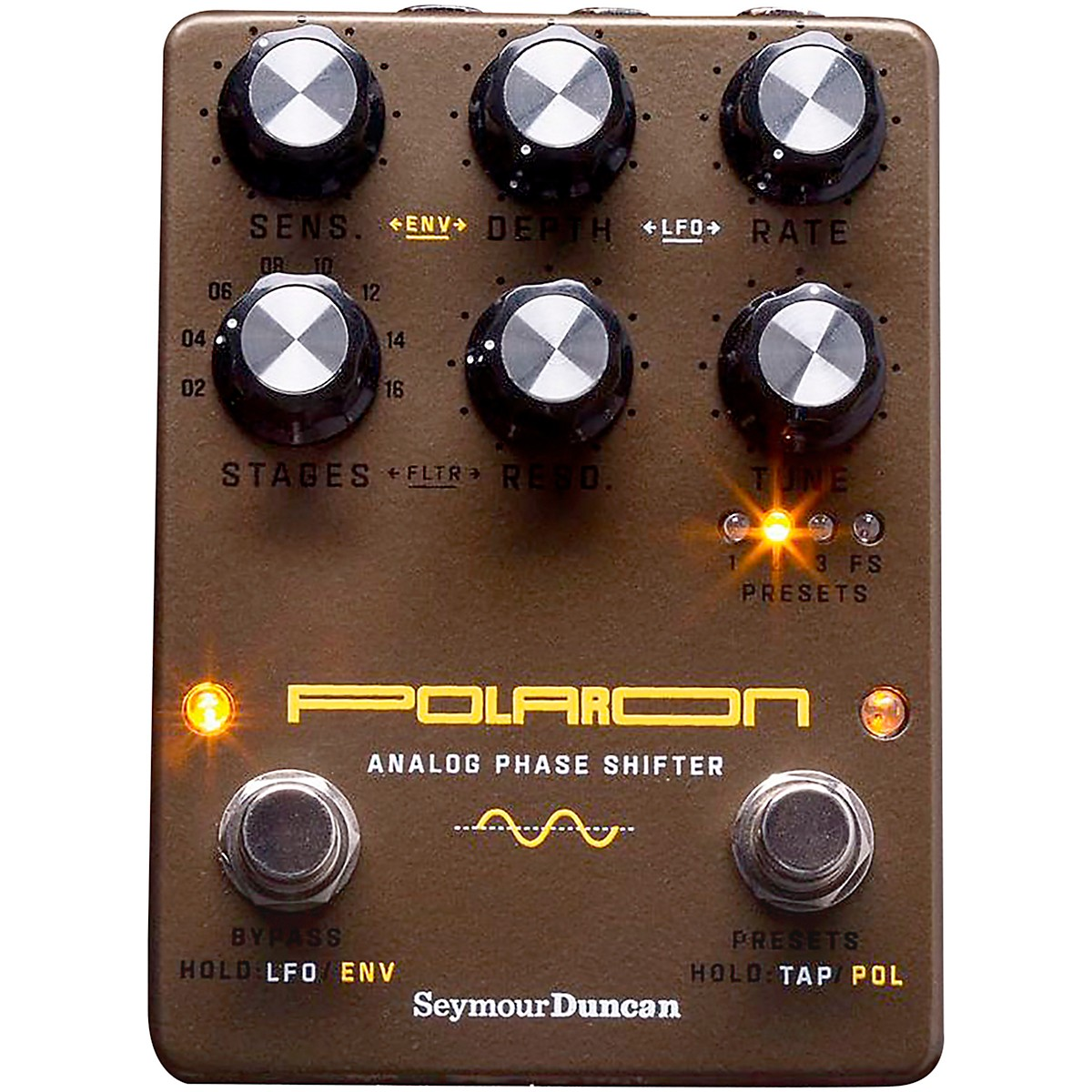 Seymour Duncan Polaron Analog Phase Shifter Effects Pedal