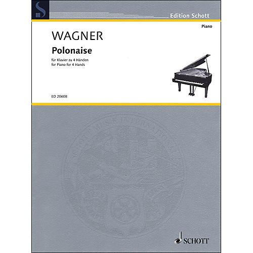 Schott Polonaise for Piano: 4 Hands