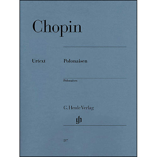 G. Henle Verlag Polonaises By Chopin / Zimmermann