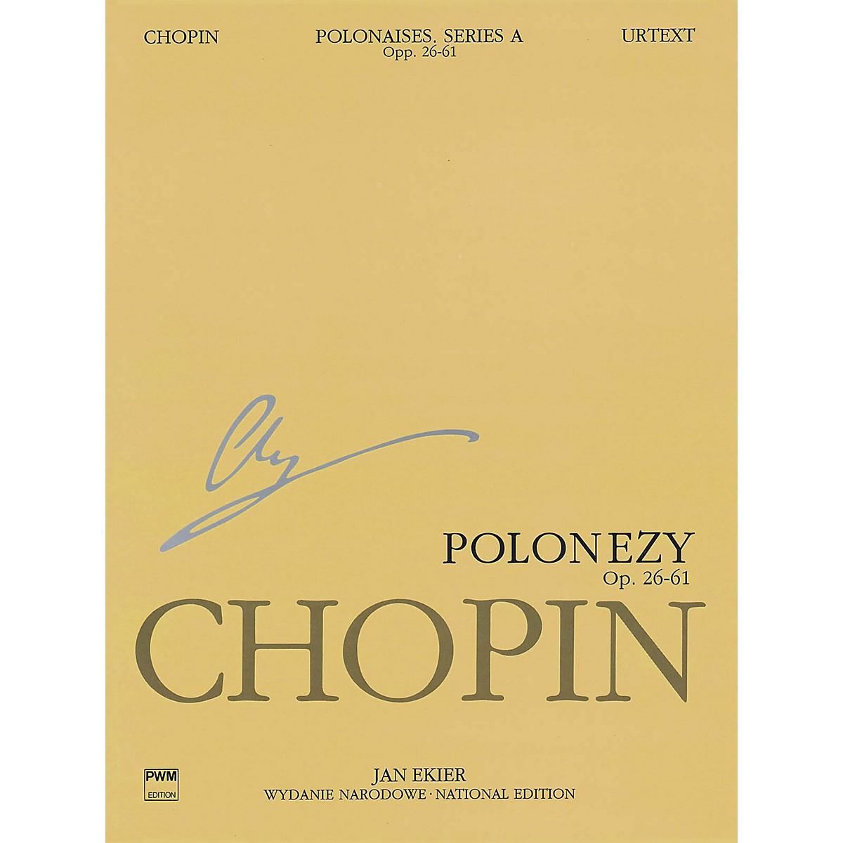 PWM Polonaises Series A: Ops. 26, 40, 44, 53, 61 (Chopin National Edition 6A, Volume VI) PWM Series Softcover