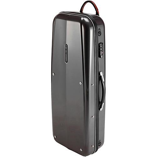 GL Cases Polycarbonate Silver Tenor Saxophone Case