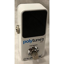 TC Electronic Polytune 2 Mini Tuner Pedal