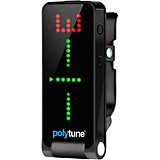TC Electronic Polytune Clip-On Guitar Tuner Black