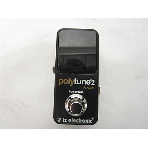 TC Electronic Polytune II Noir Tuner Pedal