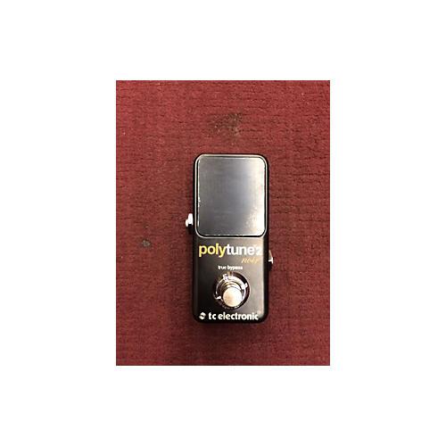 TC Electronic Polytune II Noir Tuner