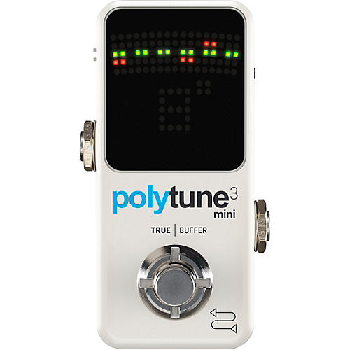 tc electronic polytune mini 3 pedal tuner white guitar center. Black Bedroom Furniture Sets. Home Design Ideas