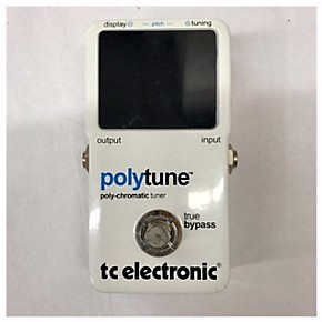 used tc electronic polytune tuner pedal guitar center. Black Bedroom Furniture Sets. Home Design Ideas