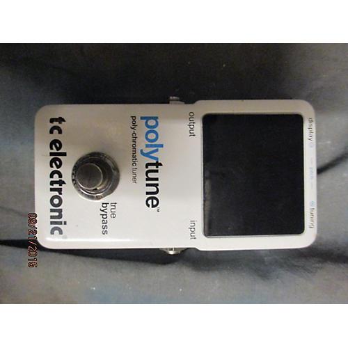 TC Electronic Polytune White Tuner Pedal
