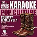 The Singing Machine Pop Culture Country Female Volume 1 Karaoke CD+G thumbnail