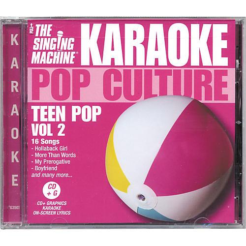 The Singing Machine Pop Culture Teen Pop Volume 2 Karaoke CD+G