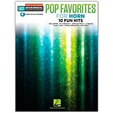 Hal Leonard Pop Favorites for Horn Easy Instrumental Play-Along Book/Audio Online