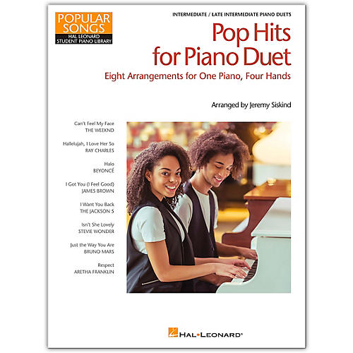Hal Leonard Pop Hits for Piano Duet-Popular Songs Series 8 Arrangements for 1 Piano, 4 Hands