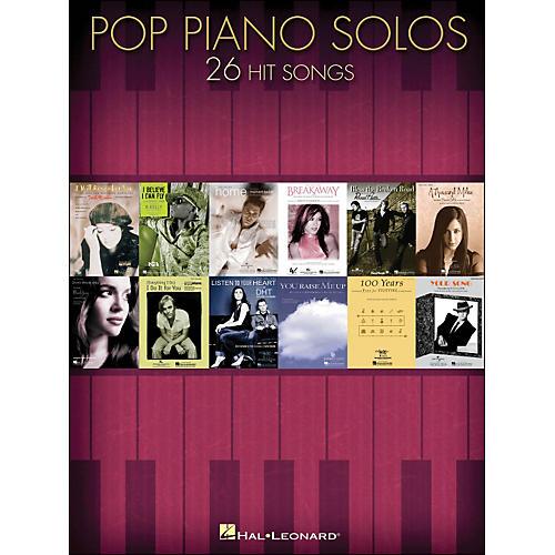 Hal Leonard Pop Piano Solos - 26 Hit Songs arranged for piano solo