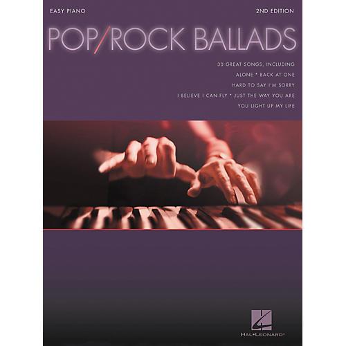 Hal Leonard Pop Rock Ballads For Easy Piano 2nd Edition