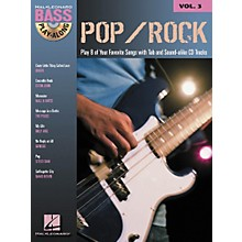 Hal Leonard Pop/Rock Bass Guitar Play-Along Series Book with CD