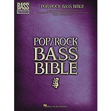 Hal Leonard Pop/Rock Bible Bass Guitar Tab Songbook