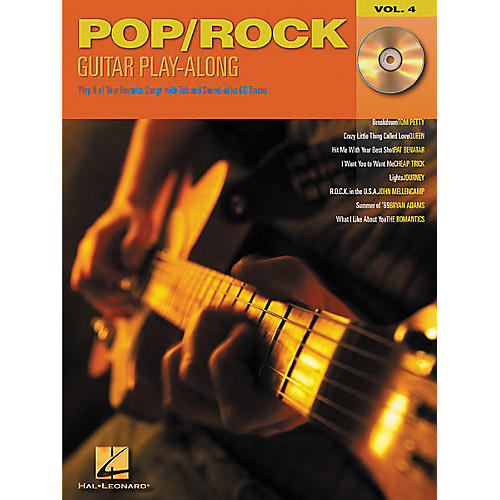 Hal Leonard Pop/Rock Guitar Play-Along Series Volume 4 Book with CD