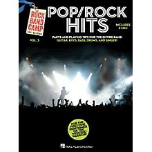 Hal Leonard Pop/Rock Hits - Rock Band Camp Vol. 3 (Book/2-CD Pack) Vocal, Guitar, Keys, Bass, Drums