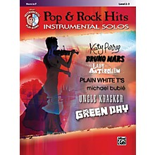 Alfred Pop & Rock Hits Instrumental Solos F Horn Book & CD