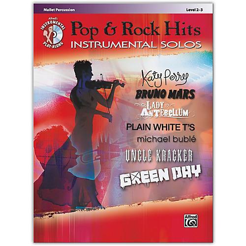 Alfred Pop & Rock Hits Instrumental Solos Mallet Book & CD Level 2-3