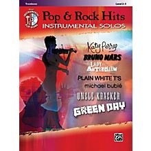 Alfred Pop & Rock Hits Instrumental Solos Trombone Book & CD