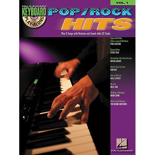 Hal Leonard Pop Rock Hits: Keyboard Play-Along Series, Volume 1 (Book/CD)