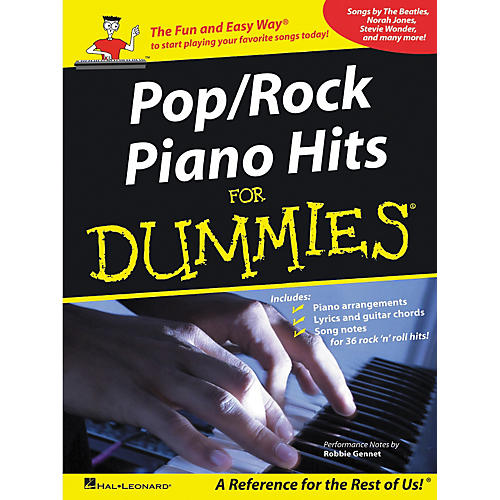 Hal Leonard Pop/Rock Piano Hits For Dummies Piano-Vocal-Guitar Songbook