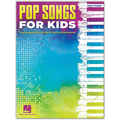 Hal Leonard Pop Songs For Kids Easy Piano