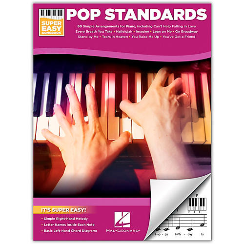 Hal Leonard Pop Standards-Super Easy Songbook for Piano