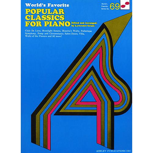Hal Leonard Popular Classics for Piano 69 Worlds Favorite