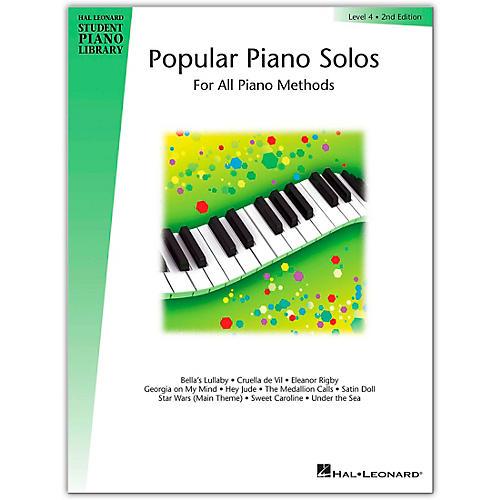 Hal Leonard Popular Piano Solos Book 4 Hal Leonard Student Piano Library