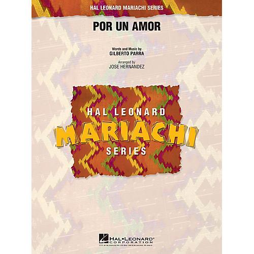 Hal Leonard Por Un Amor Concert Band Level 2.5 Arranged by Jose Hernandez