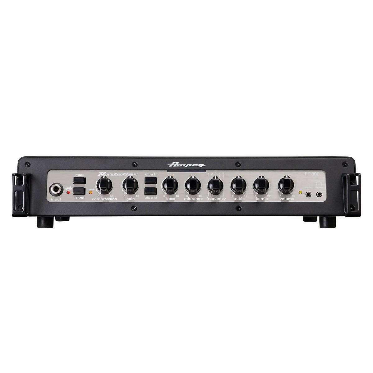 Ampeg Portaflex PF800 800W Class-D Bass Amp Head