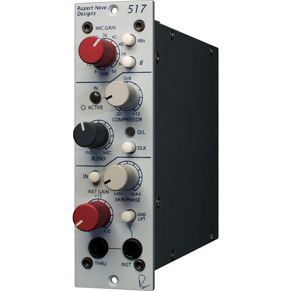 Rupert Neve Designs Portico 517: 500 Series Mic Pre / DI / Comp