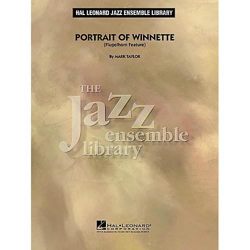 Hal Leonard Portrait of Winnette (Flugelhorn Feature) Jazz Band Level 4 Composed by Mark Taylor