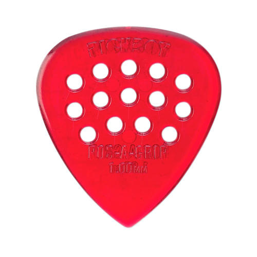 Pick Boy Pos-a-Grip Red Polycarbonate (10-pack)