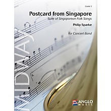 Anglo Music Postcard from Singapore (Grade 3 - Score Only) Concert Band Level 3 Composed by Philip Sparke