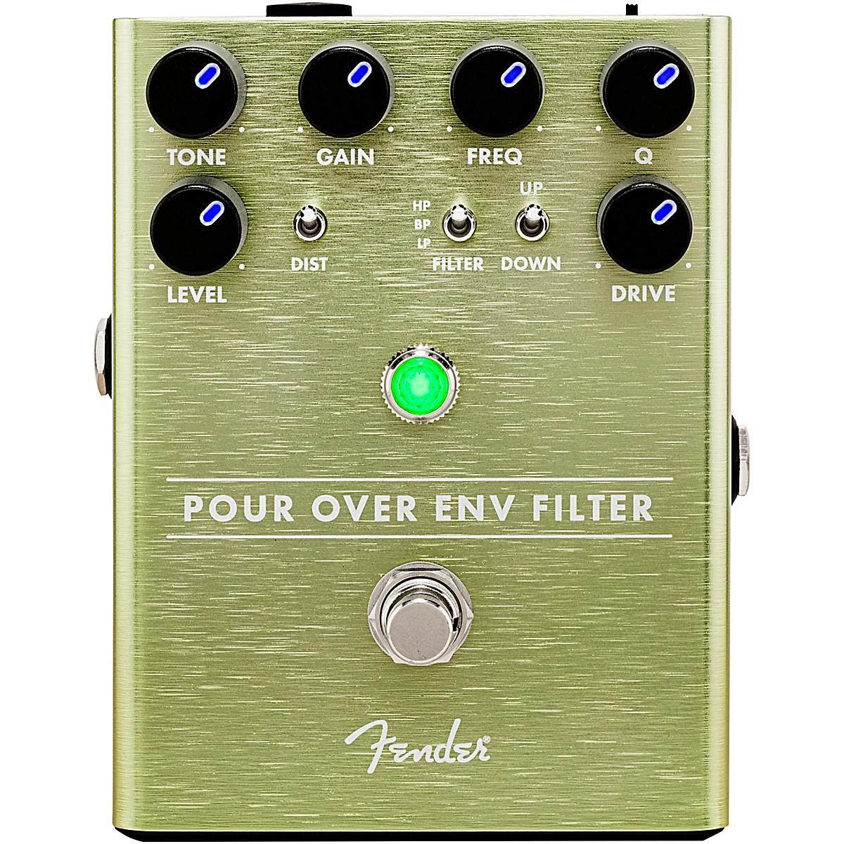 Fender Pour Over Envelope Filter Effects Pedal