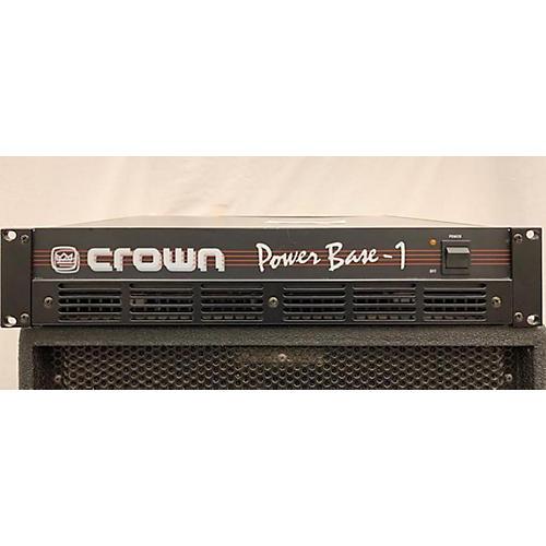 Crown Power Base 1 Power Amp