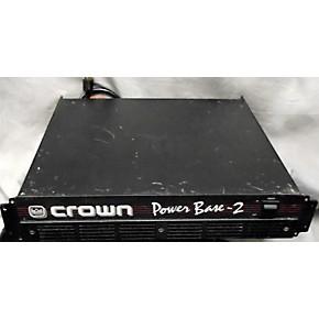 used crown power base 2 power amp guitar center. Black Bedroom Furniture Sets. Home Design Ideas