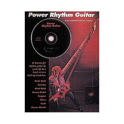Hal Leonard Power Rhythm Guitar Book/CD
