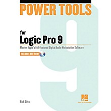 Hal Leonard Power Tools For Logic Pro 9 Book w/DVD
