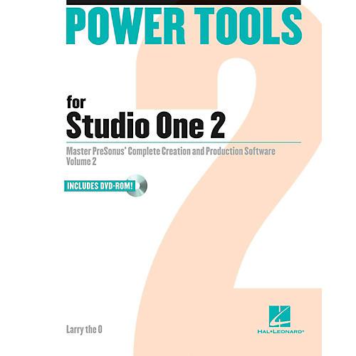 Hal Leonard Power Tools For Studio One 2 Book/DVD-ROM