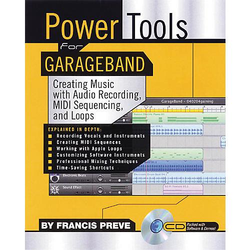Backbeat Books Power Tools for GarageBand (CD-ROM)