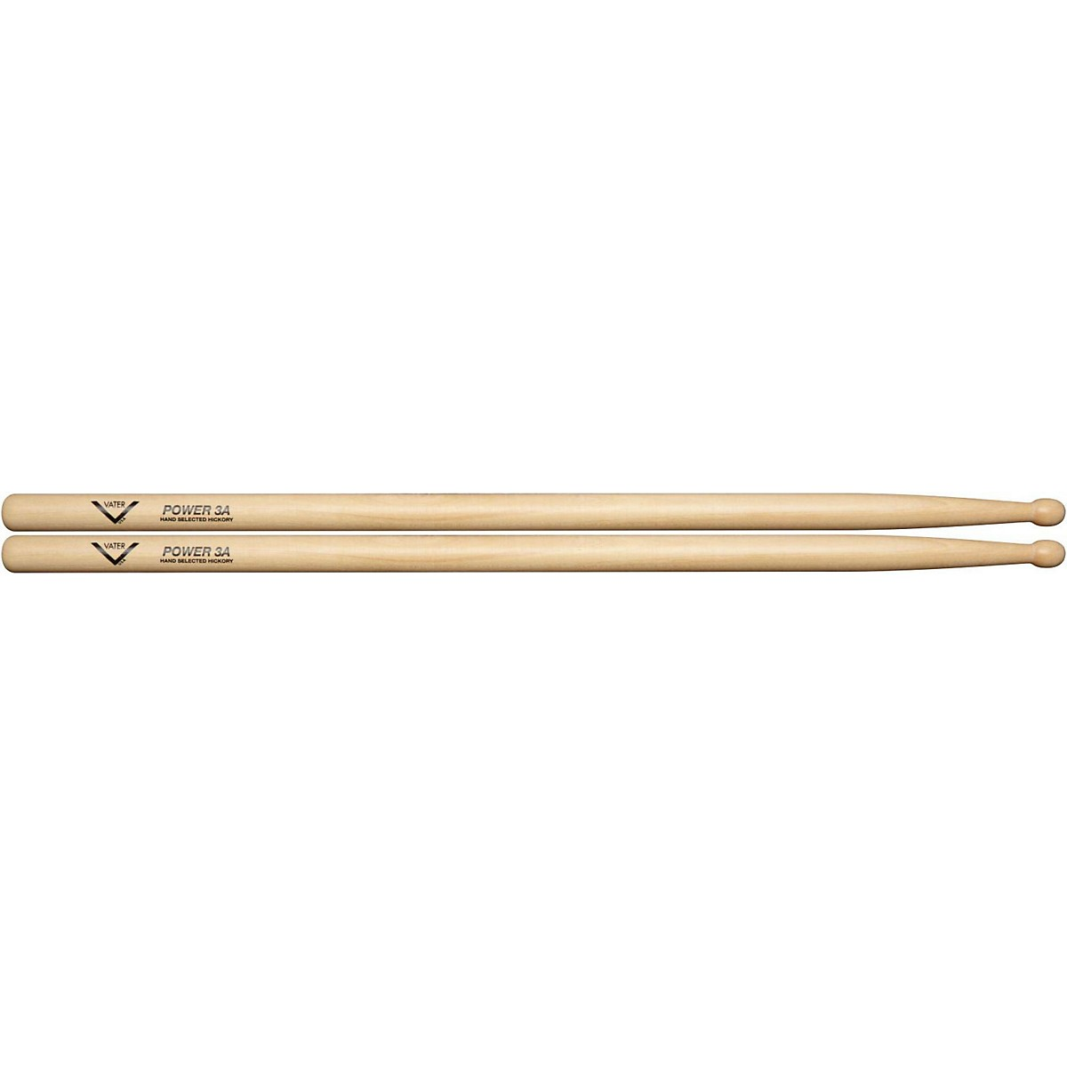 Vater Power Wood Tip Drumsticks - Pair