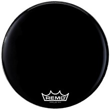 Remo Powermax 2 Marching Bass Drum Head Level 1 Ebony 16 in.