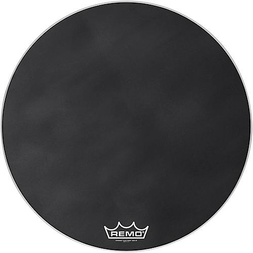 remo powermax black suede crimplock bass drum head guitar center. Black Bedroom Furniture Sets. Home Design Ideas